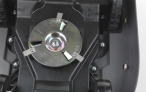 Robotická sekačka HONDA Miimo 310 má 3 speciální výkyvné nože