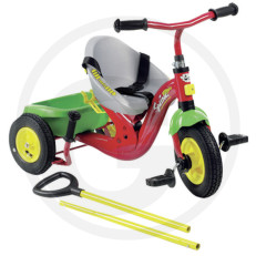 Rolly Toys šlapací tříkolka SWING VARIO s vodící tyčí