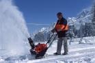 Sněhová fréza HONDA HS 550 v akci