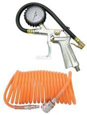 Hadice s pistolí HECHT ke kompresorům