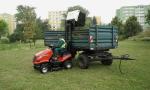 Zahradní traktor SECO Starjet Exclusive UJ 102-24 4x4 PRO - koš vyjede do výšky 187 cm