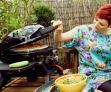 Forma na Calzone OUTDOORCHEF zpestří nabídku jídel při zahradních oslavách