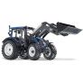 Model traktoru Valtra N113 s předním nakladačem