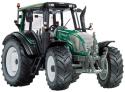 Model traktoru VALTRA N143 HiTech - zelený