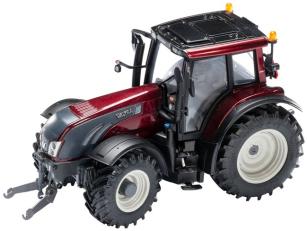 Model traktoru VALTRA T163 - červený