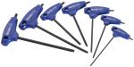 """Sada 7ks zástrčných klíčů Torx s """"T"""" rukojetí TONA E121301"""