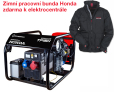 Třífázová elektrocentrála HONDA TP 15 H + zimní pracovní bunda Honda zdarma