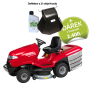 Zahradní traktor HONDA HF 2417 HM + deflektor a 2 l oleje Honda ZDARMA