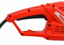 Elektrické nůžky na živý plot HECHT 606 - zadní rukojeť s integrovaným odlehčením pnutí kabelu