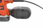 Elektrická vibrační bruska HECHT 1760 - jemný filtr nečistot