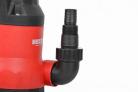 Zahradní ponorné čerpadlo na znečištěnou vodu HECHT 3752 - detail výstupu čerpadla