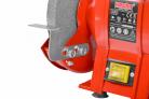 Elektrická stolní bruska HECHT 1727 - nastavitelný bezpečnostní kryt kotouče