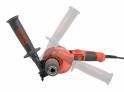 Elektrická vrtačka s příklepem HECHT 1075 - rukojeť je možno nastavit dle potřeby
