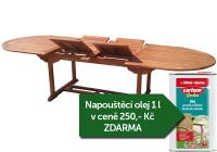 Zahradní rozkládací stůl TEXIM Extra