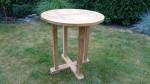 Zahradní stůl TEXIM Daisy teakový oválný 70 cm