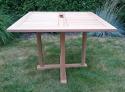 Zahradní stůl TEXIM Sven teakový 100 x 100 cm