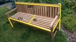 Zahradní lavice TEXIM Queensbury 180 cm - rozměry
