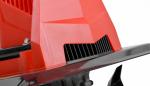 Elektrický kultivátor HECHT 745 - detail přední masky motoru