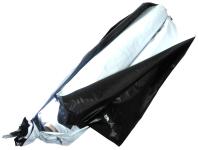 Plachta silážní 10x25 m 150 mikrónů bílá/černá