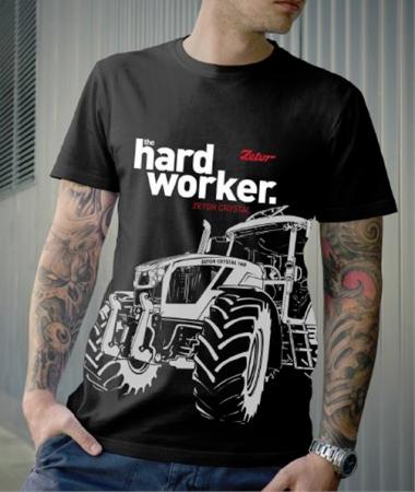 Tričko ZETOR Hardworker - vel. M