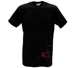 Tričko černé ZETOR - velikost L