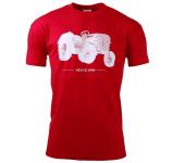 Pánské červené triko ZETOR - vel. XXL