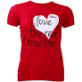 Dámské tričko se srdcem ZETOR - velikost M