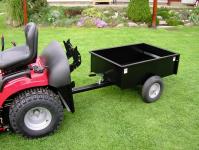 Sklápěcí vozík k zahradnímu traktoru VARES TDKL