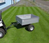 Sklápěcí vozík k zahradnímu traktoru VARES TRVMS