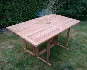 Zahradní skládací stůl TEXIM Butterfly/Beverly 150 x 90 cm