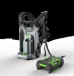 Zádový nosič baterií s popruhy EGO + bateriový adaptér