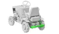 Zadní nosič ZN1 pro DAKR FD-5