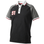 Pánské triko Piqué černé VALTRA