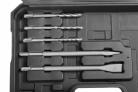 Elektrická vrtačka / kladivo HECHT 1080 - příslušenství v boxu