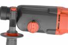 Elektrická vrtačka / kladivo HECHT 1080 - nastavení typu práce