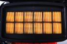 Motorový fukar HECHT 972 Profi - prachový filtr