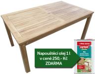 Zahradní stůl TEXIM Garden 150 x 90 cm