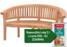 Zahradní lavice TEXIM Peanut Banana 160 cm