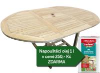Zahradní rozkládací stůl TEXIM Jepara
