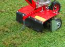Provzdušňovač/prořezávač trávníků VARI PP-60 při vertikutaci