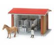 Koňská stáj s figurkou, koněm a příslušenstvím BRUDER 62520