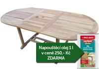 Zahradní rozkládací stůl TEXIM Alfi