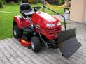 Shrnovací radlice k zahradnímu traktoru VARES Komfort 1,18 m