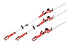 Elektrické tyčové nůžky na živý plot HECHT 675 - maximální a minimální délka, délka bez tyče