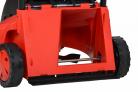 Elektrická sekačka HECHT 1000 - detail zadního výhozu