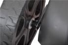 Elektrická sekačka HECHT 1846 4in1 - kuličková ložiska koleček