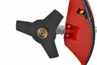 Motorový křovinořez HECHT 129 BTS - detail uchycení žacího nože