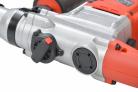 Elektrická vrtačka / kladivo HECHT 1028 - přístup pro mazání a nastavení