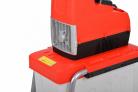 Elektrický drtič větví HECHT 6285 XL Silent - drtič je vybavený ozubeným válcem