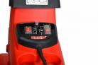 Elektrický drtič větví HECHT 6285 XL Silent - detail ovládacího panelu